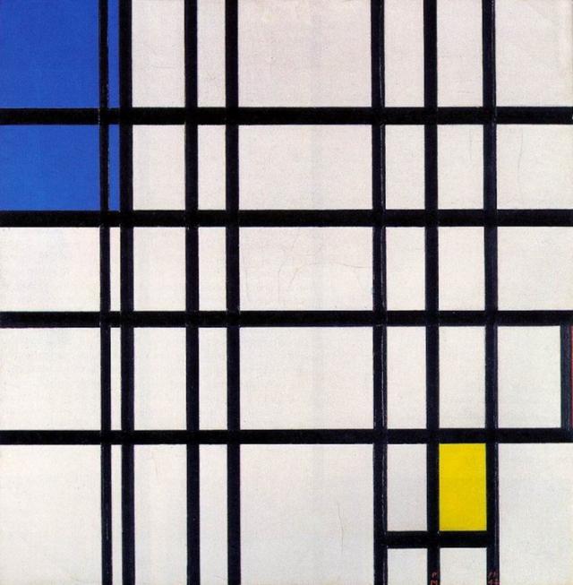 藝術頭條 失衡中的平衡——蒙德里安的三原色美學 - 每日頭條