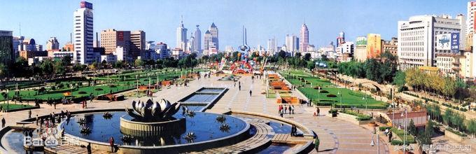 山東濟南泉城廣場。你不能不去的地方 - 每日頭條