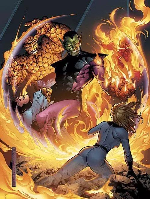 《驚奇隊長》超級反派揭曉,外星版神奇四俠,曾使復聯解散 - 每日頭條