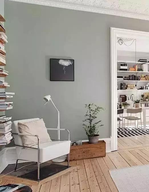 灰綠。 最適合大面積上牆的顏色 - 每日頭條