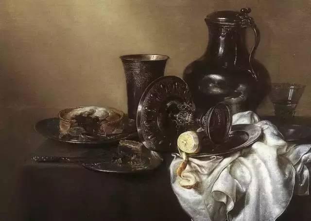 荷蘭靜物畫家海達的檸檬 - 每日頭條
