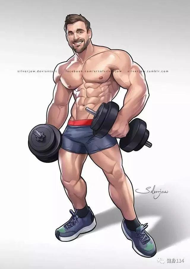 最勁爆的肌肉漫畫。每張都可以做壁紙! - 每日頭條