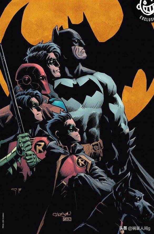《偵探漫畫》#1000變體封面,眾多大神紛紛出手 - 每日頭條