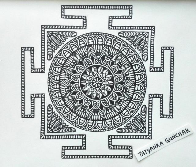 創意曼陀羅繪畫 - 每日頭條