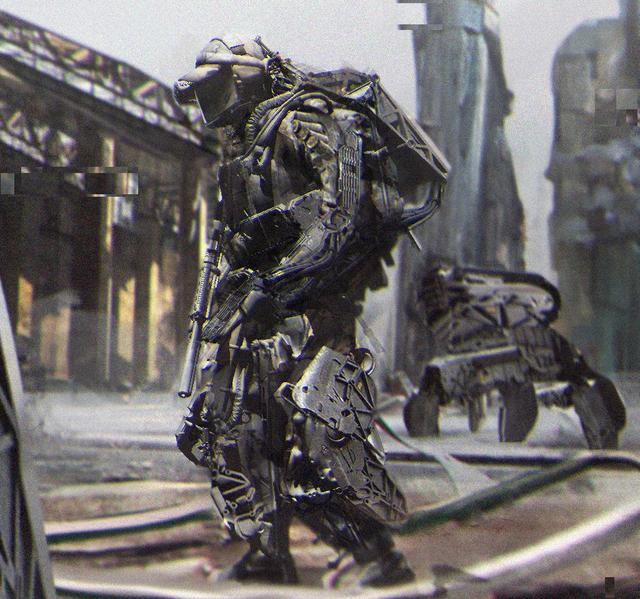在未來的地球。戰爭中如果沒有人形機甲那真的離死神不遠了嗎? - 每日頭條