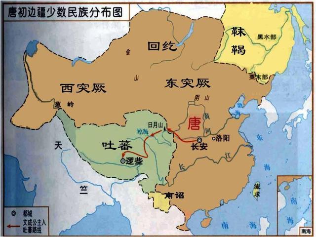 唐朝與突厥帝國的戰爭(二)程咬金西征,在新疆大敗西突厥 - 每日頭條