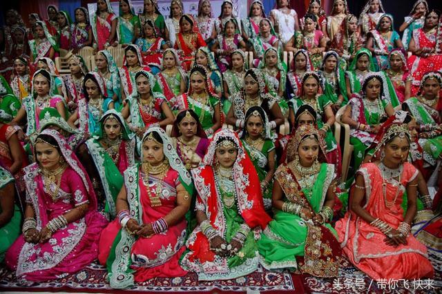 印度鑽石商為貧窮女孩辦集體婚禮 - 每日頭條