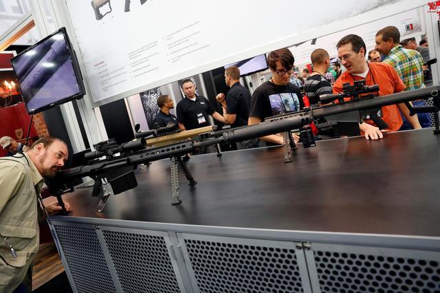 全民玩槍——2016年美國步槍協會年會上 民眾玩槍熱情高漲 - 每日頭條