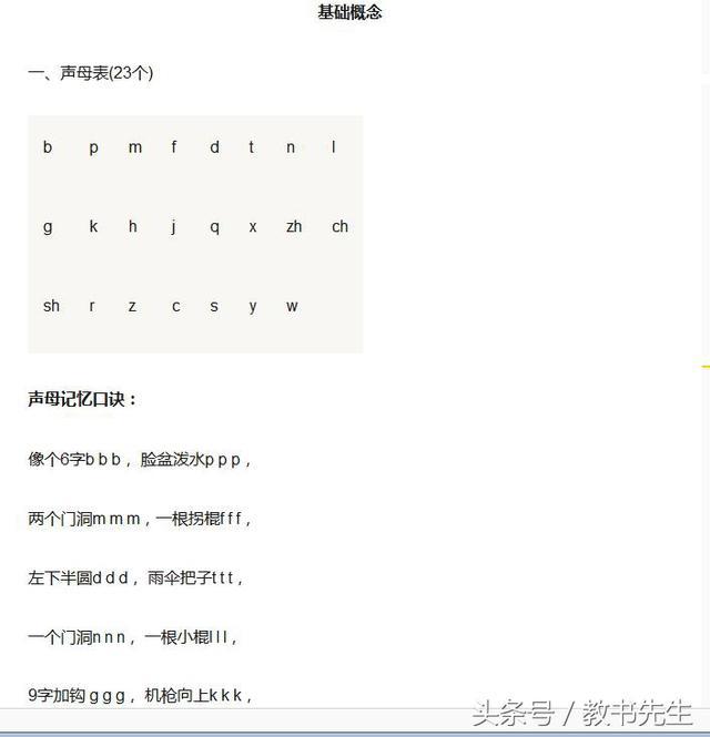 怎樣學習漢語拼音 - 每日頭條