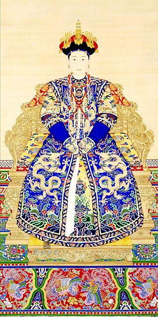 清朝歷代皇后像 - 每日頭條
