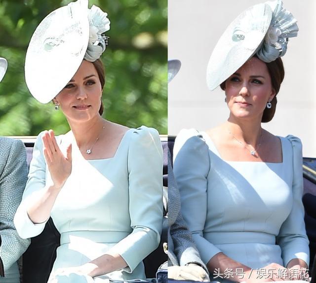 比美梅根:凱特王妃產後公開亮相閱兵式 一對鑽石耳墜價值3萬 - 每日頭條