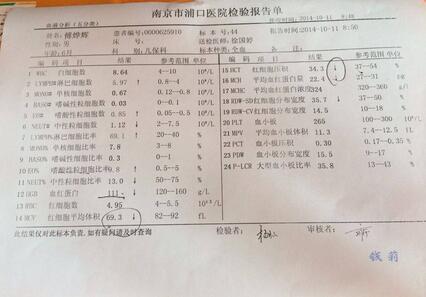 血常規化驗單怎麼看?心疼寶寶抽血的父母都該看看 - 每日頭條