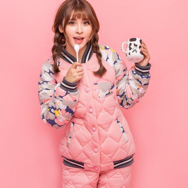 選款冬季睡衣給自己,做冬日的睡美人-潮流 - 每日頭條