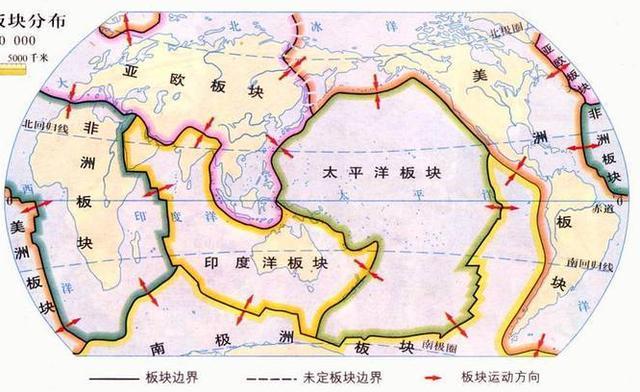 世界上主要的火山地震帶分布在哪裡?如何形成的? - 每日頭條