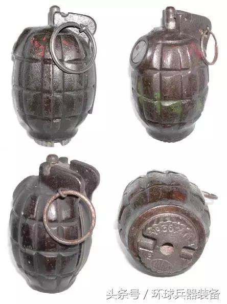 為英國立下汗馬功勞的經典老式輕武器,米爾斯手榴彈 - 每日頭條