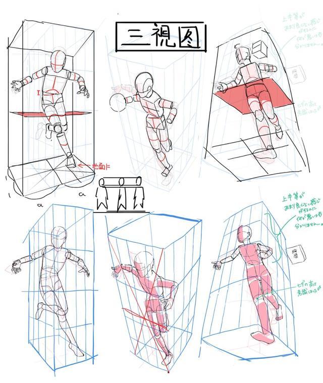 動漫人體結構怎麼畫?你們要的人體結構來了! - 每日頭條