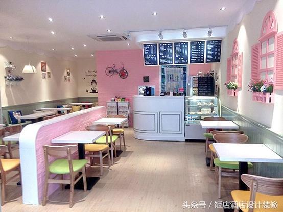 創業首選的甜品店裝修設計方案 - 每日頭條