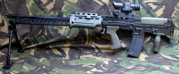 SA80 不列顛小口徑步槍最後的一抹陽光? - 每日頭條