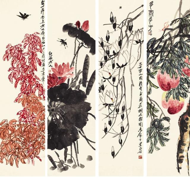 吳昌碩與齊白石:藝術大師之間的恩怨情仇 - 每日頭條