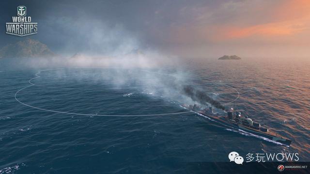 戰艦世界059煙霧改良體驗:驅逐將成為團隊最佳輔助 - 每日頭條