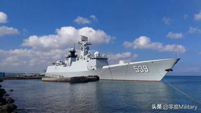 深度解析:054型飛彈護衛艦 - 每日頭條