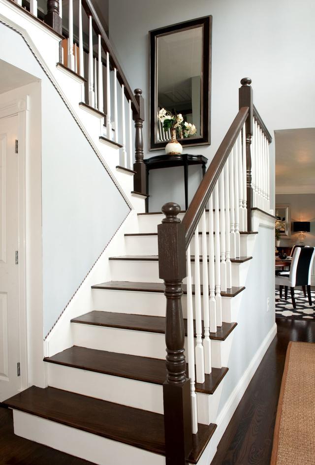家庭樓梯設計靈感圖集。40個樓梯設計案例實景 - 每日頭條
