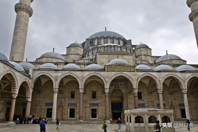 伊斯坦堡最漂亮的清真寺——蘇萊曼尼耶清真寺 - 每日頭條