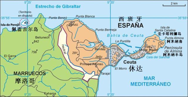 西班牙痛斥英國占領直布羅陀,摩洛哥人卻哭了 - 每日頭條