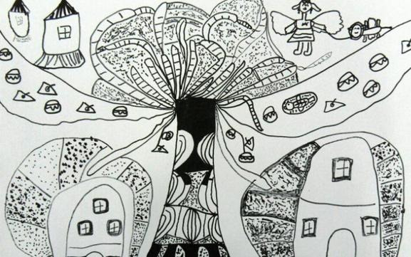 如何激發兒童對線描畫的興趣? - 每日頭條