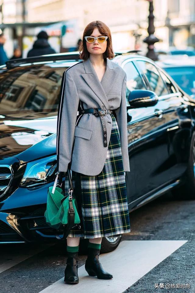 「西裝外套+裙子」的搭配,輕鬆穿出各種風格 - 每日頭條