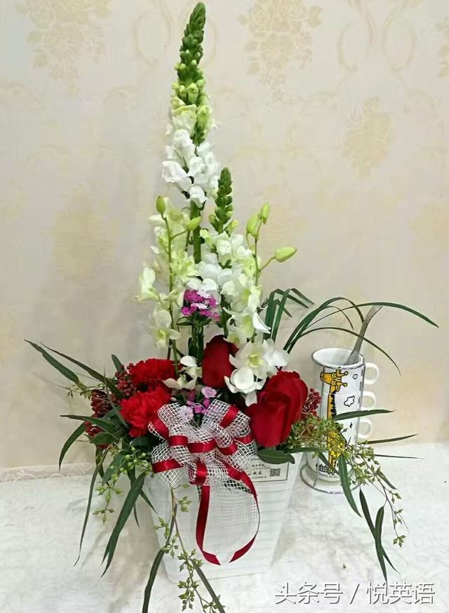 美麗的插花花藝祝朋友們聖誕節及新年快樂(附帶中英文花語) - 每日頭條