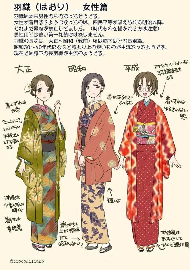 日本一網友手繪「和服種類大全」引數萬網友狂點讚,這也太太太實用了吧! - 每日頭條