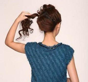 2款簡單大方的女生盤發髮型教程! - 每日頭條