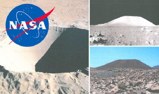 登月騙局?這是NASA拍攝的「地球上的假登月」的證據! - 每日頭條