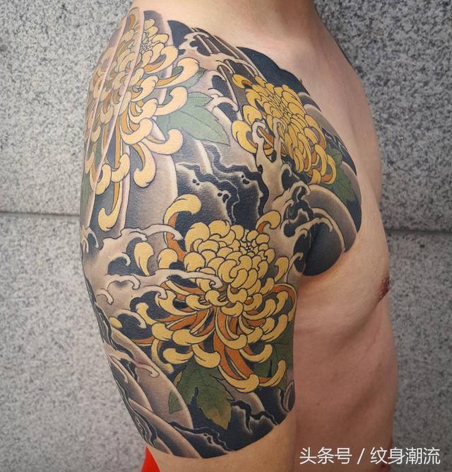 日式傳統刺青。紋身不分國界 - 每日頭條