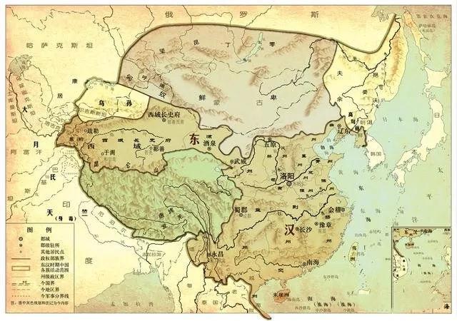 中國歷史上版圖最大的十二個封建王朝,值得一看 - 每日頭條
