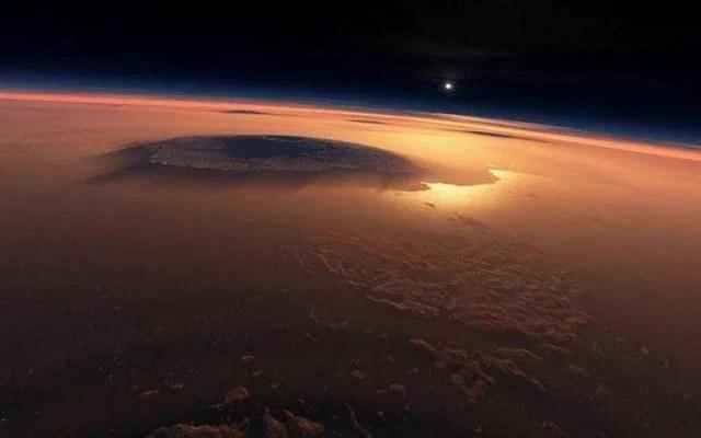 火星上的山比地球上的高是因為火星上沒有海平面,是這樣嗎? - 每日頭條