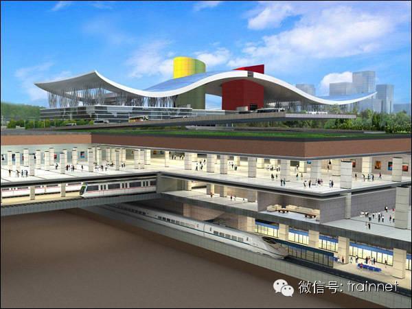看!亞洲最大的地下火車站:廣深港高鐵福田站 - 每日頭條