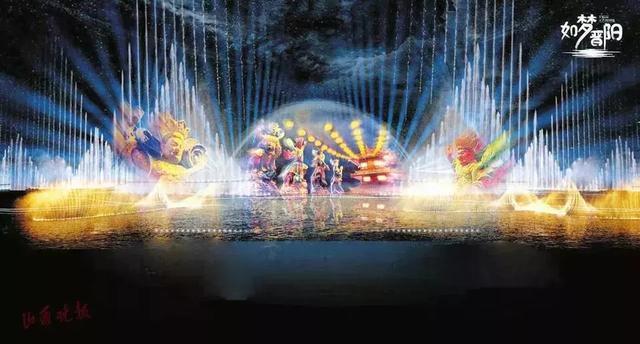 珠江燈光丨晉陽湖畔,如夢似幻 - 每日頭條