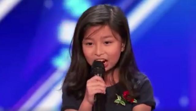 9歲女孩譚芷昀衝出國際,揚威《全美一叮》,贏得全場起立掌聲,視頻瀏覽過千萬 - 每日頭條