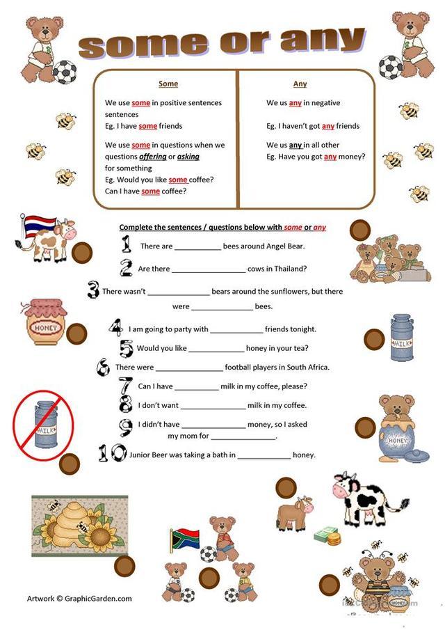 中小學英語:輕鬆掌握some和any的用法 - 每日頭條