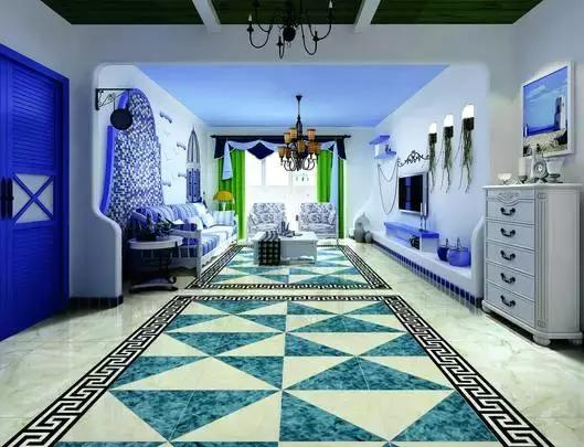 客廳裝修地面瓷磚如何選。拋光、玻化還是釉面? - 每日頭條