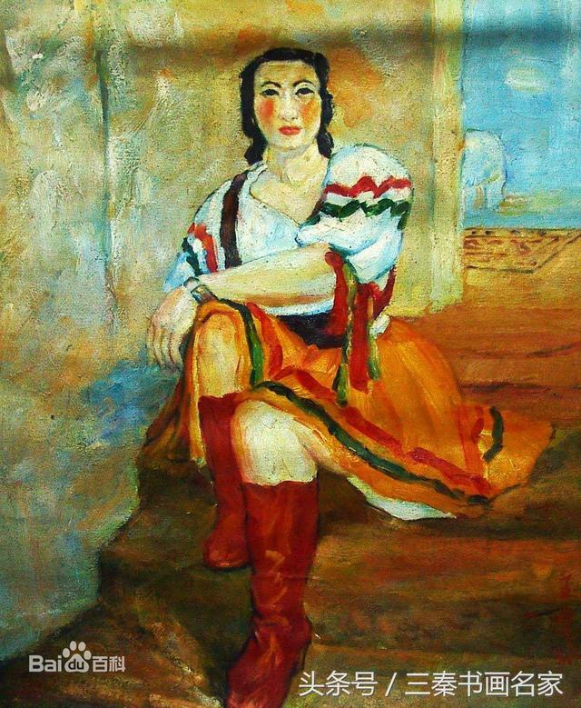 女畫家潘玉良油畫作品欣賞 - 每日頭條