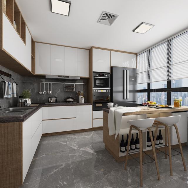 廚房門正對客餐廳,如何設計? - 每日頭條
