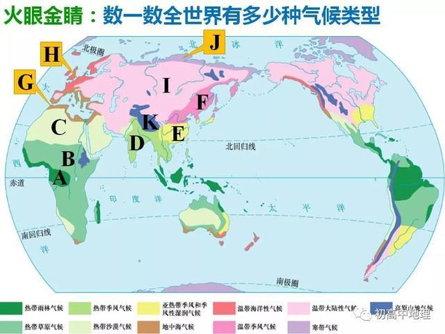初高中地理 重難點之:世界氣候(二) - 每日頭條