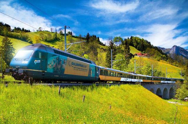 270度全透明景觀列車。你見過嗎?瑞士最著名的火車路線 - 每日頭條