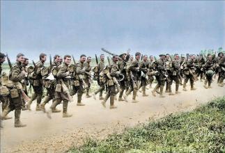 一戰英軍突破不了土耳其的防線。於是想到一個損招 - 每日頭條