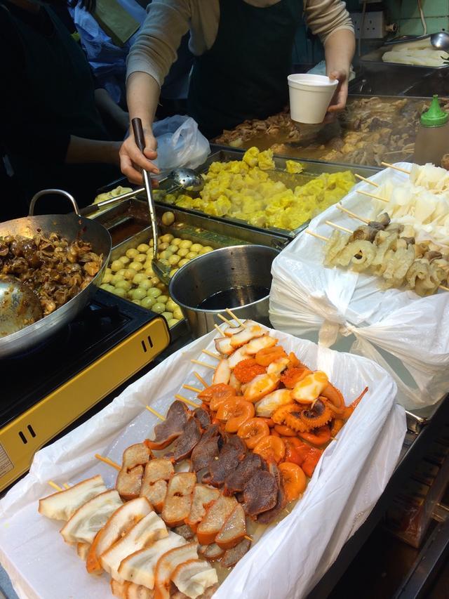 游香港必吃的街頭小吃-掃街 - 每日頭條