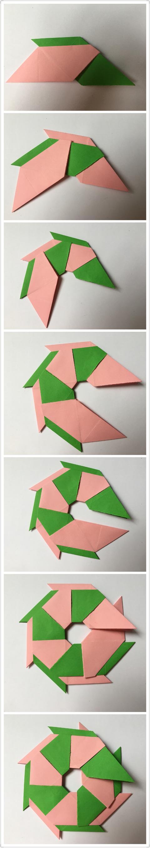 兒童手工——八角飛鏢的折法 - 每日頭條