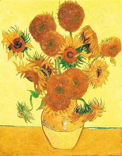 梵谷的《向日葵》都開在了哪兒 - 每日頭條